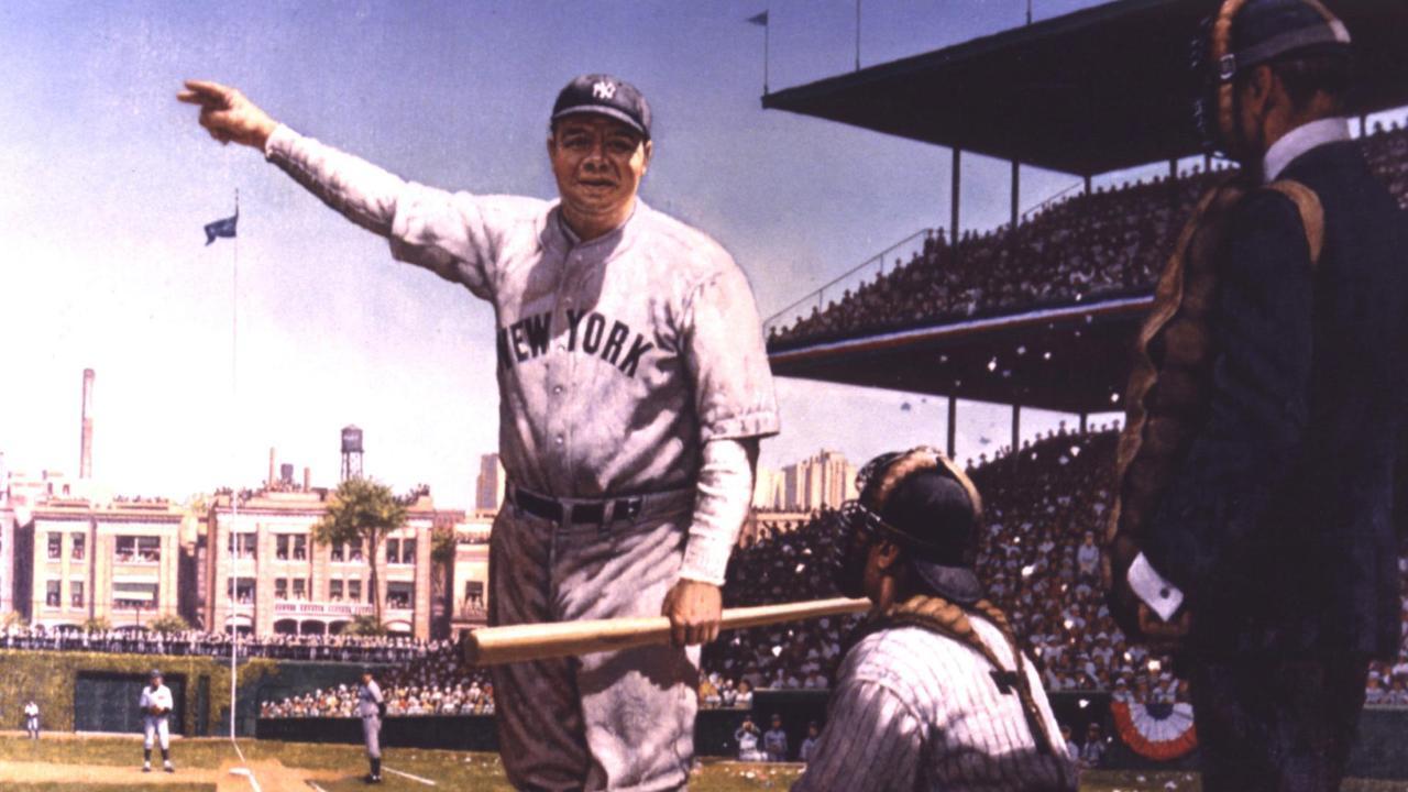 Called Shot Babe Ruths Home Run In 1932 World Series -7537