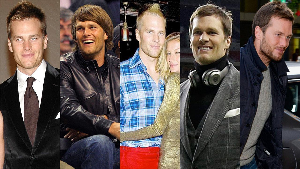 Sports Style Swipe: Evolution of Tom Brady's Style IMG
