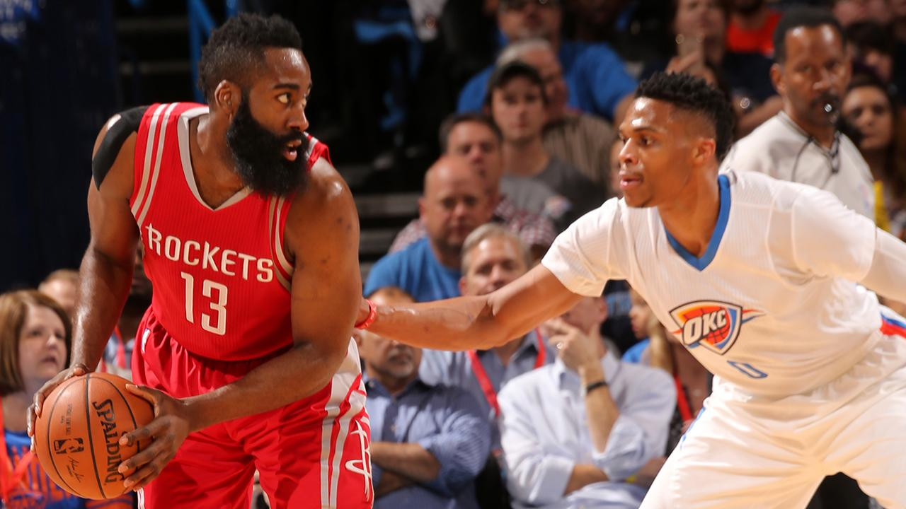 Who's the MVP: James Harden or Russell Westbrook? IMG