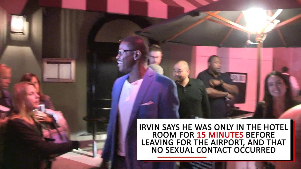 Report: Michael Irvin investigated for sexual assault