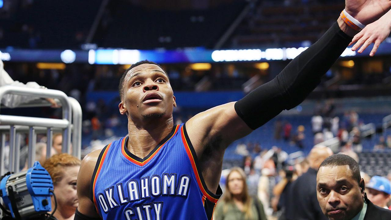Russell Westbrook scored 57 points in win, sets NBA record for most in triple-double