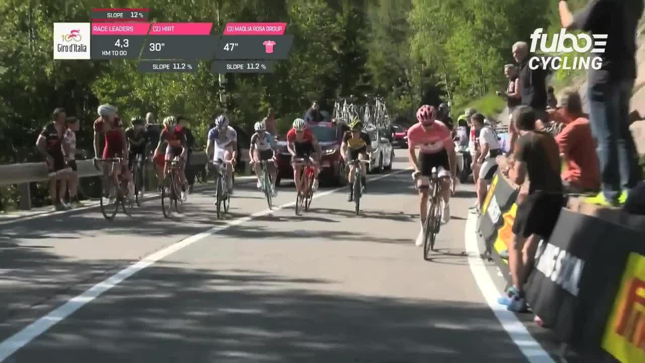 Watch: Giro d'Italia stage 18 highlights