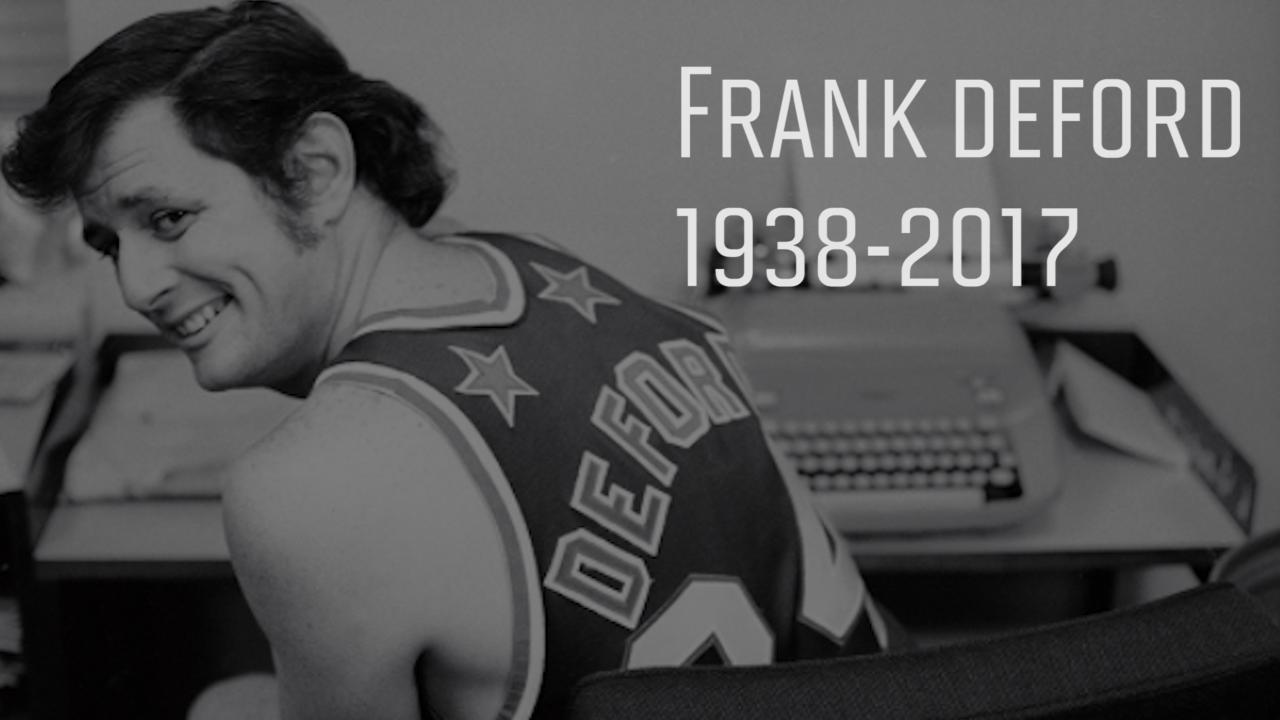 Longtime Sports Illustrated writer Frank Deford dies at 78