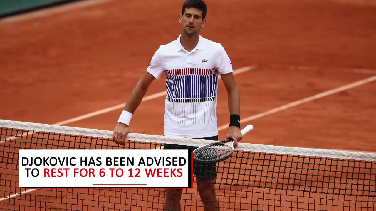 Elbow Injury Sidelines Novak Djokovic for Rest of 2017 Season
