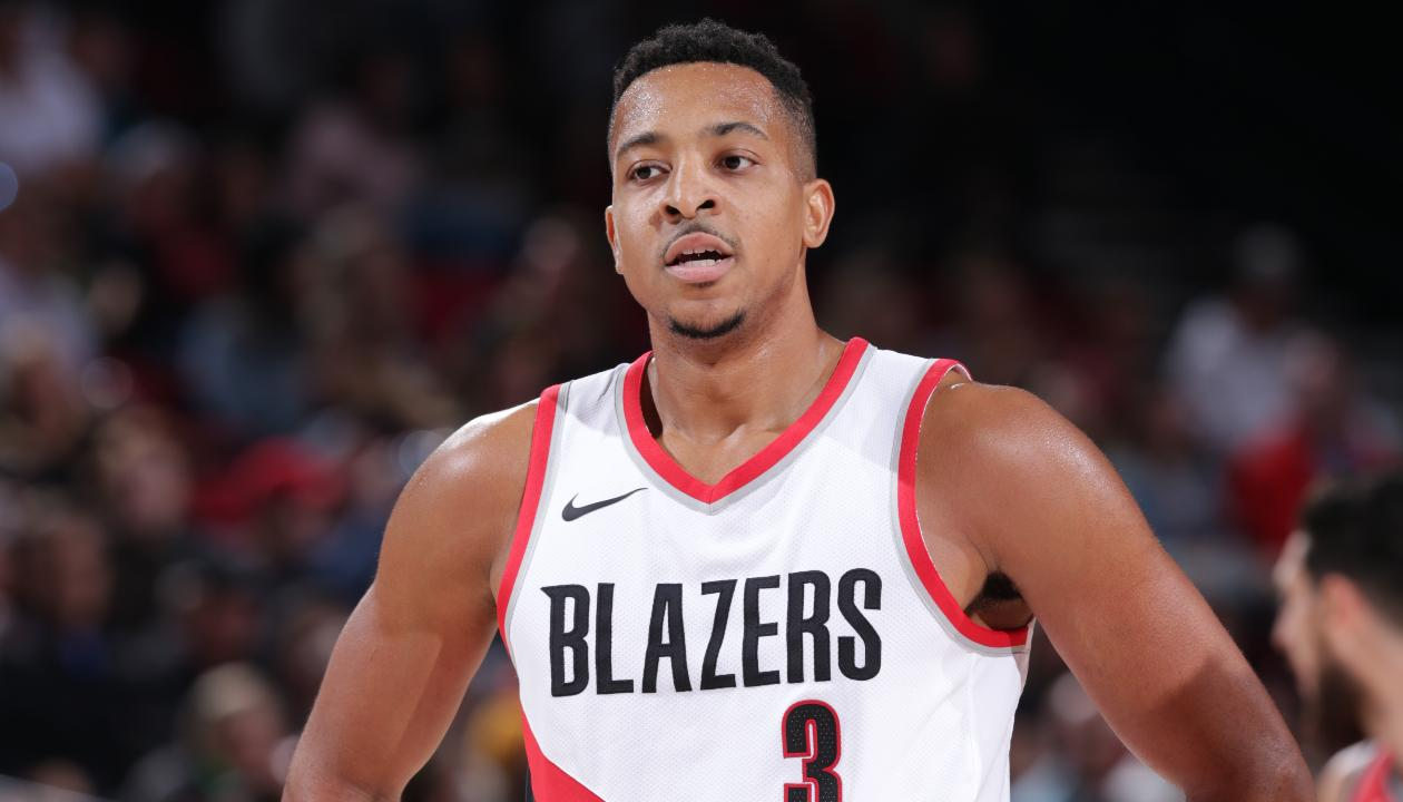 C.J. McCollum Suspended for Season Opener After Leaving Bench in Altercation