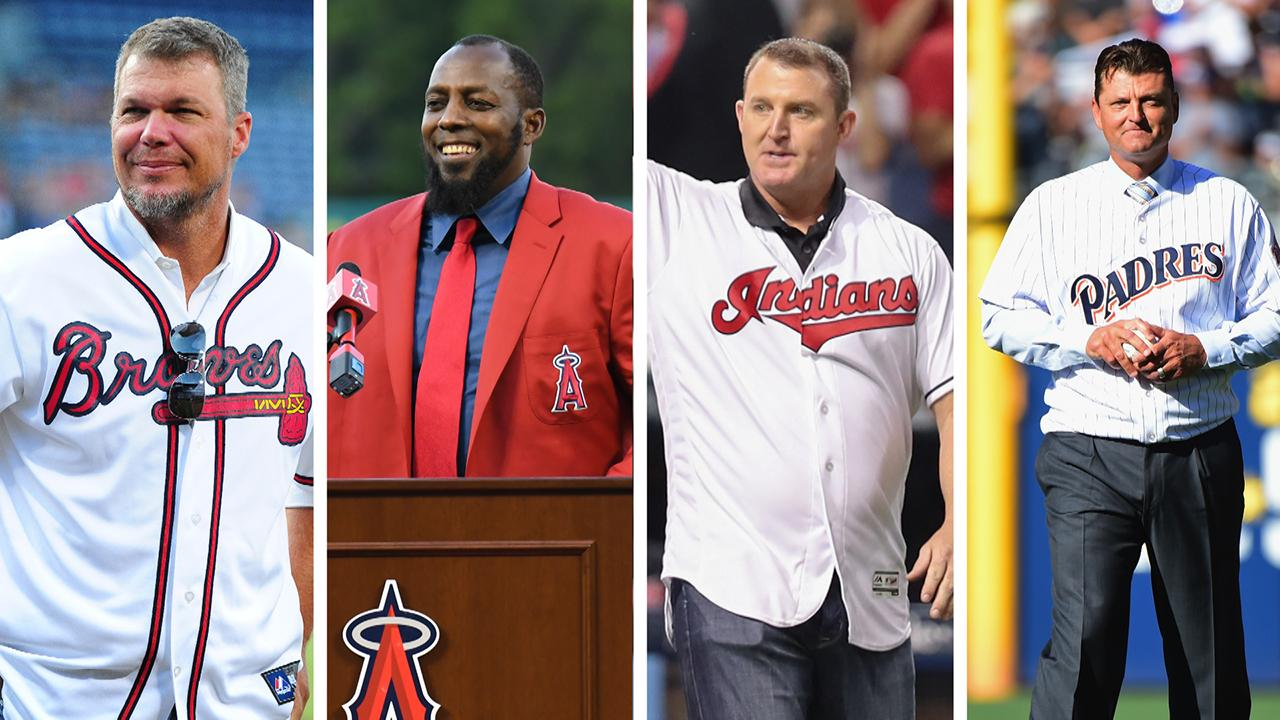 Baseball Hall of Fame: Chipper Jones, Vlad Guerrero, Jim Thome and Trevor Hoffman Join Class of 2018 - IMAGE