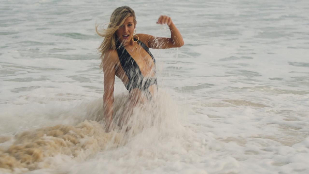 Genie Bouchard SI Swimsuit 2018 Outtakes
