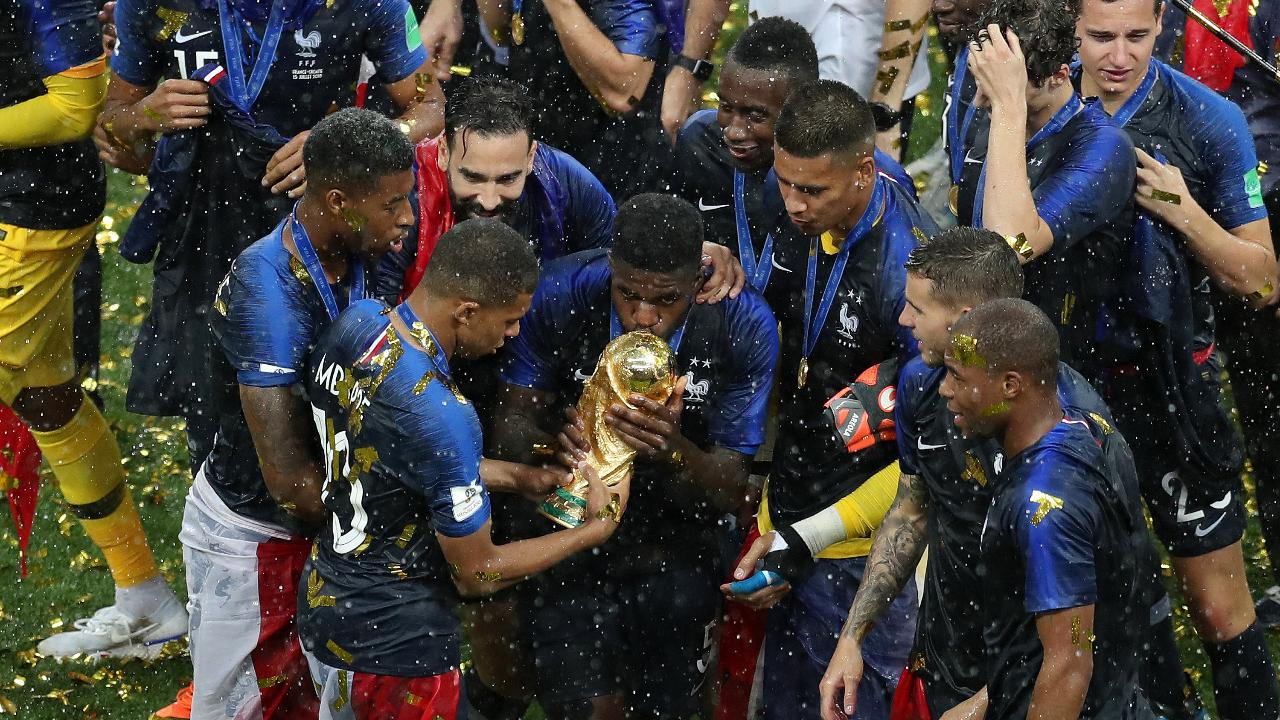 France Celebrates Second World Cup Victory After 4-2 Win Over Croatia