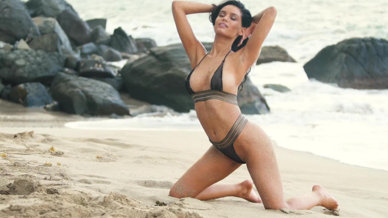 Anne de Paula heats things up in Nevis