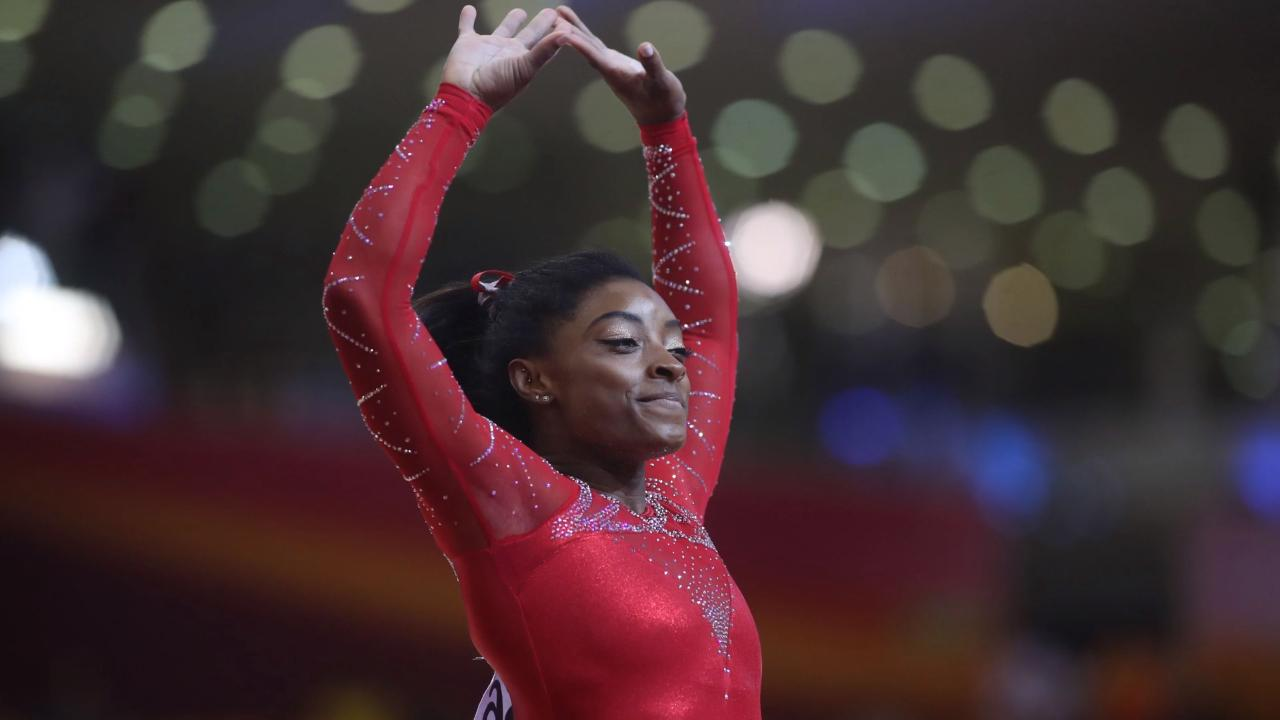 Simone Biles Becomes First American to Medal in Every Event at Worlds