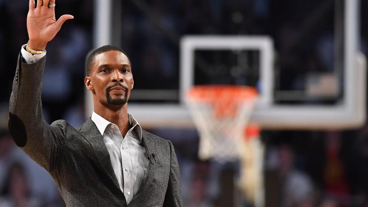 Miami Heat To Retire Chris Bosh's Jersey in March Ceremony
