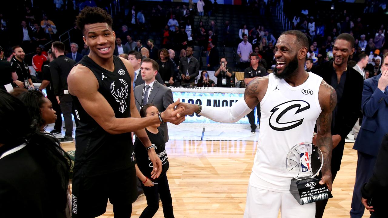 LeBron James, Giannis Antetokounmpo Draft All-Star Teams
