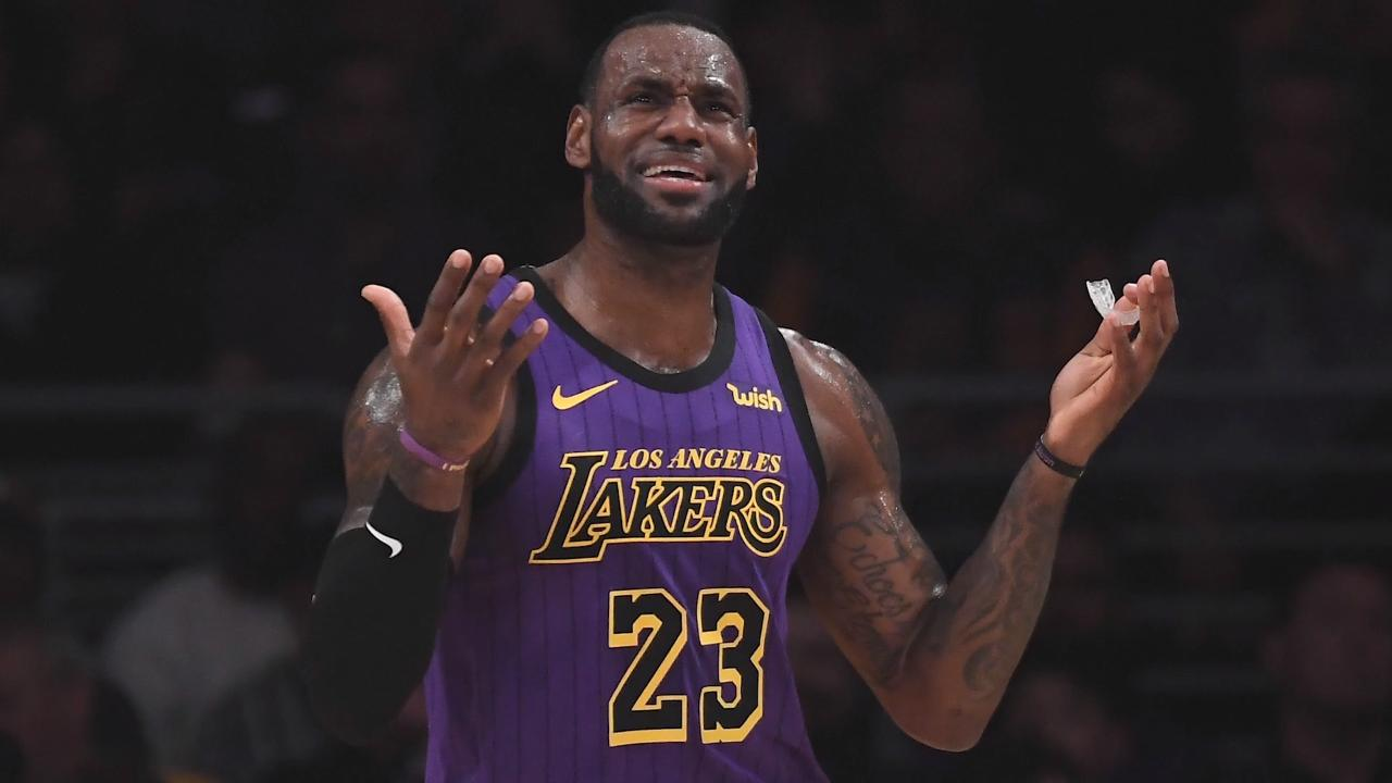 Lakers Officially Eliminated From Playoffs in LeBron James's First Year