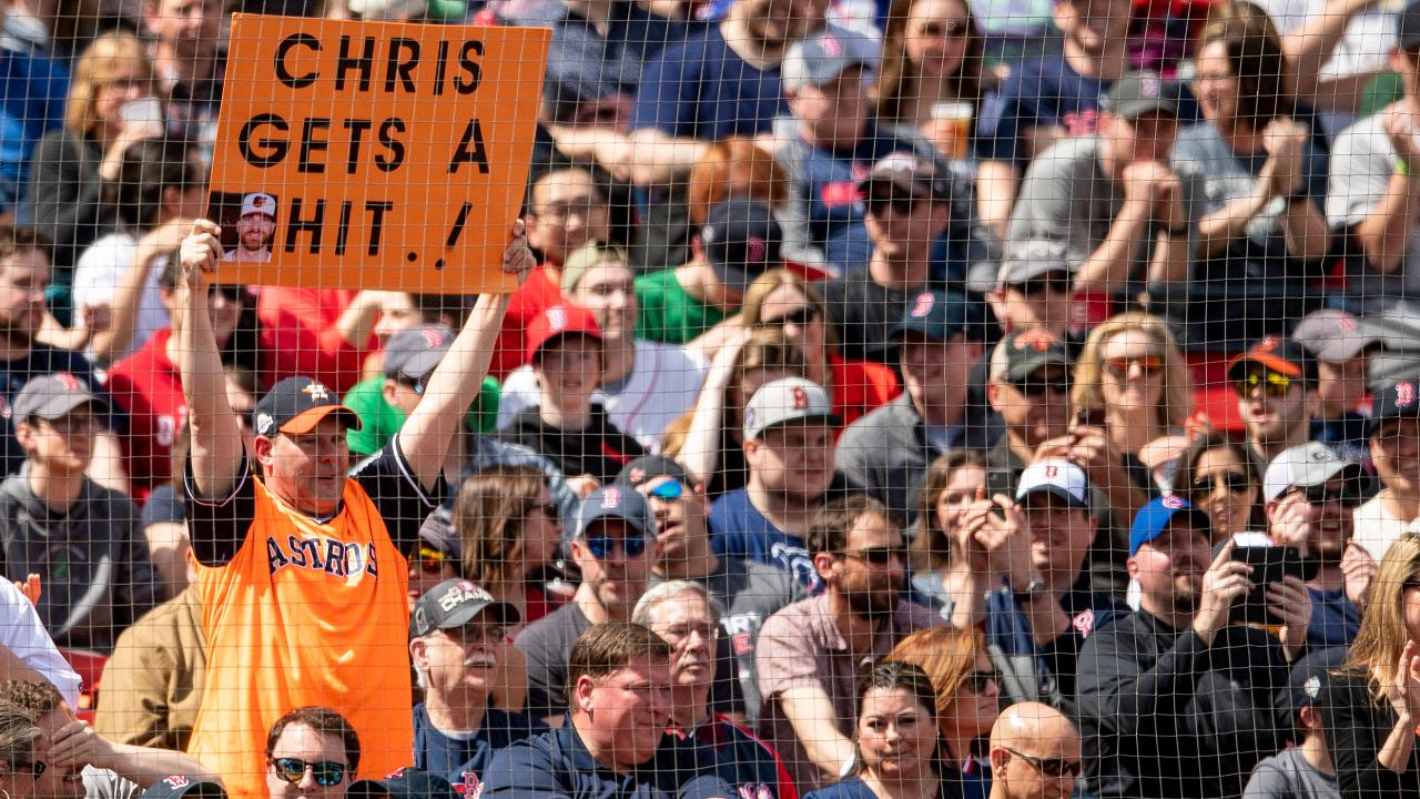 Chris Davis Ends Hitless Streak With Two-Run Single Against Red Sox