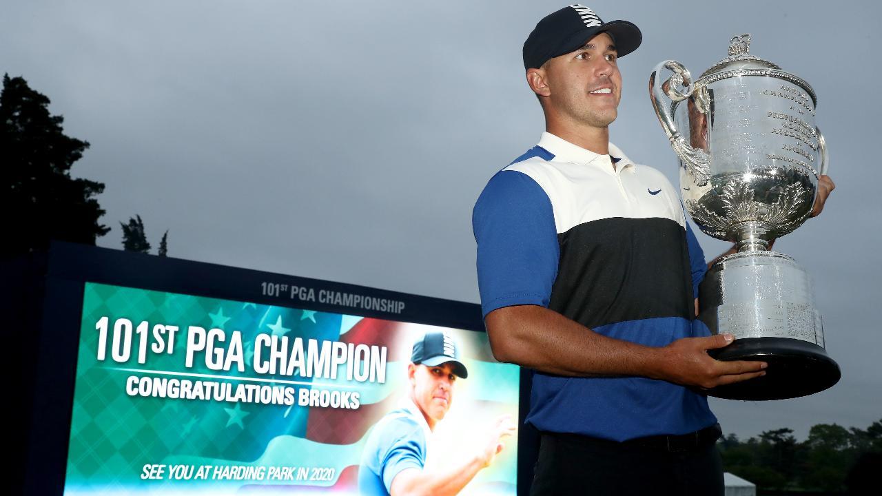 Brooks Koepka Avoids Collapse to Win Second Consecutive PGA Championship