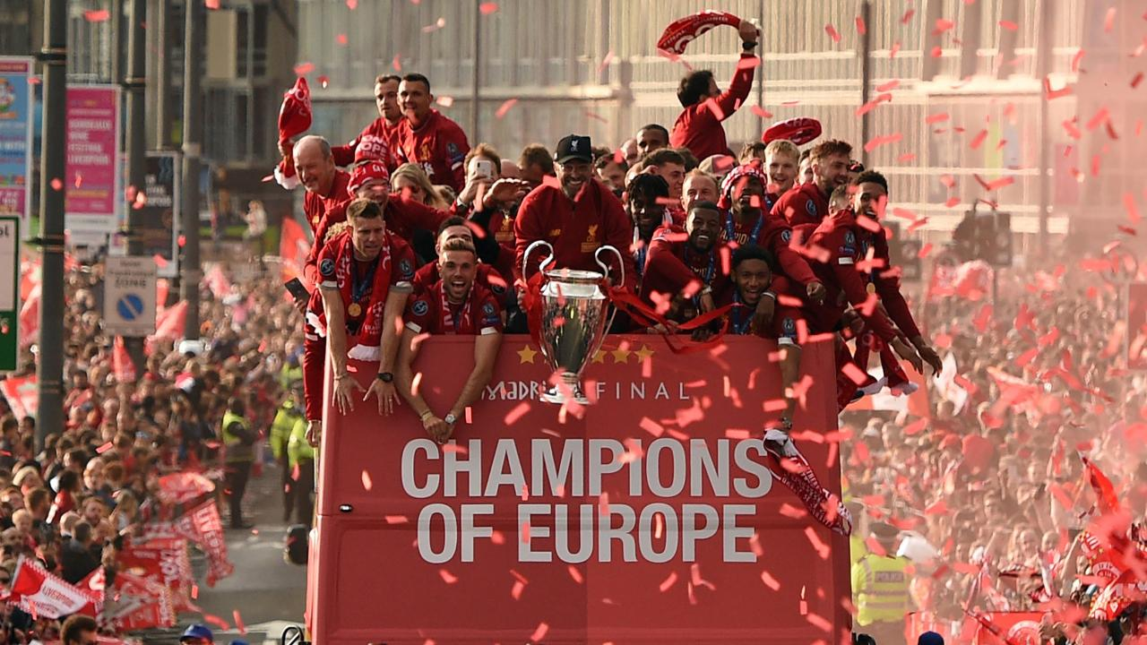 Liverpool Celebrates Sixth Champions League Title With Parade