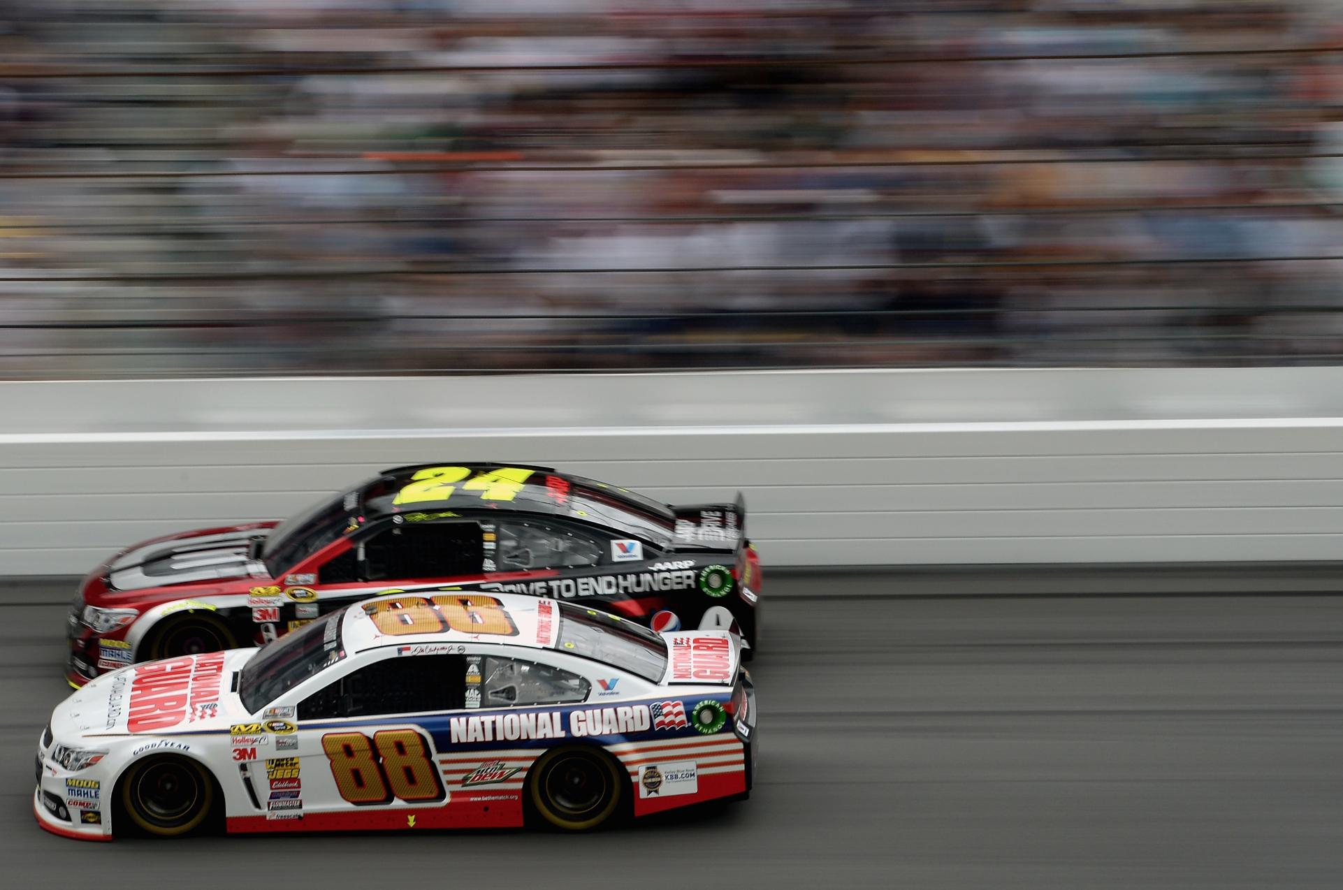 VIDEO - SI Now: Dale Earnhardt Jr. explains how NASCAR drivers get ...