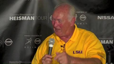 LSU legend Billy Cannon sounds off
