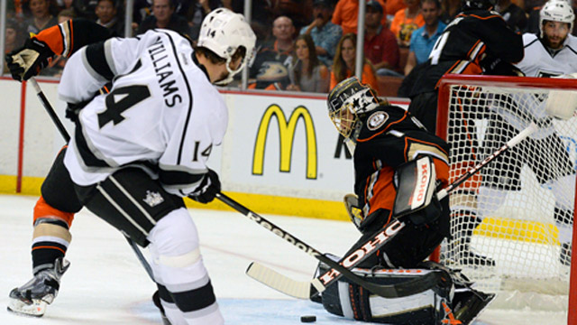 Kings advance to conference final with 6-2 rout of Ducks in Game 7