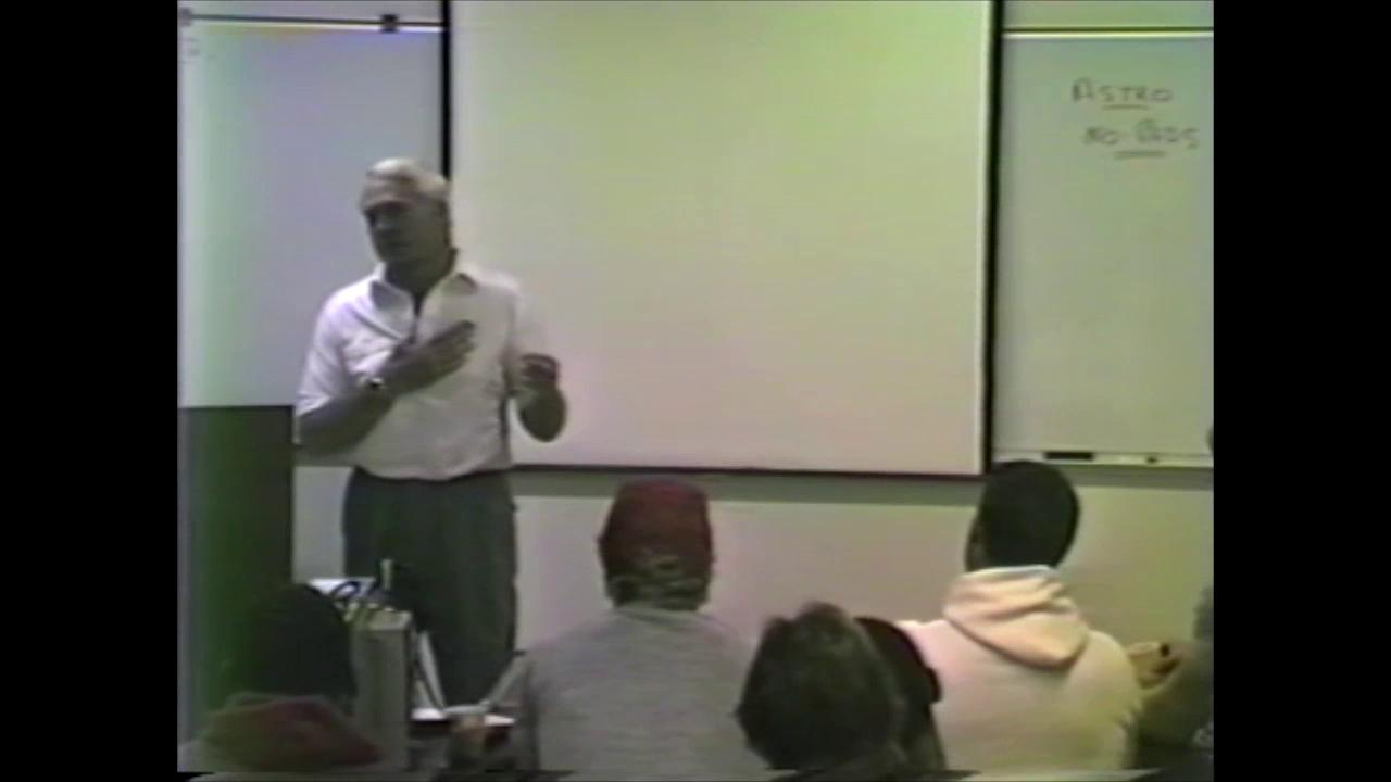 Bill Walsh addresses the Niners
