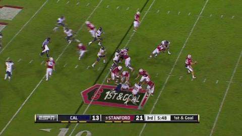 No. 8 Stanford survives to beat Cal