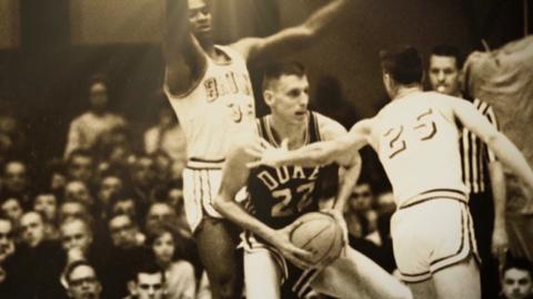 NCAA Tournament Moment: Wooden's first title