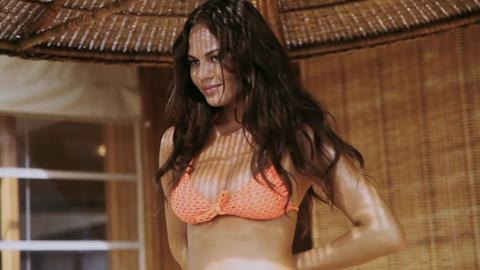 Day in the Life of SI Model Chrissy Teigen