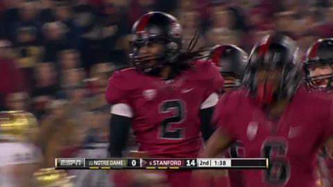 No. 4 Stanford beat No. 22 ND
