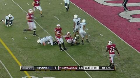 Badgers top Penn State 45-7