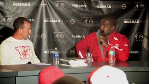 Heisman Tour: Dayne, Green discuss Heisman, Russell Wilson
