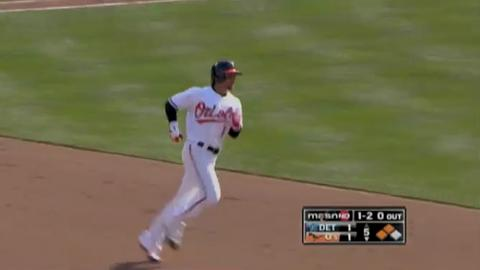 Orioles beat Tigers to stay undefeated